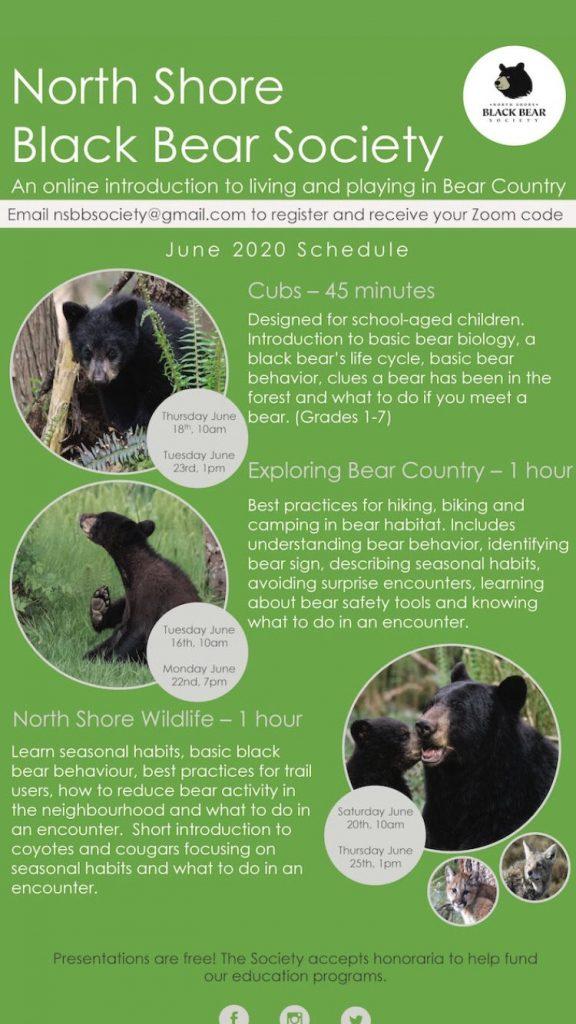 North Shore Black Bear Society